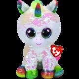Pixy the White Unicorn Medium Flippable