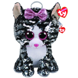 Kiki the Grey Cat Sequin backpack Ty Fashion