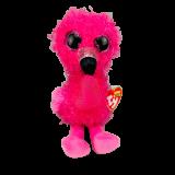 Dainty the Flamingo Valentine's Day Regular Beanie Boo