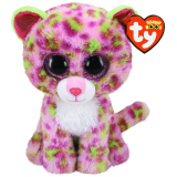 Lainey the Pink Leopard Regular Beanie Boo