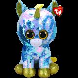 Dazzle the Blue Unicorn Large Flippable