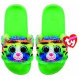 Tigerly the Rainbow Cat Slides Small