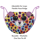 Giselle the Leopard Ty Mask