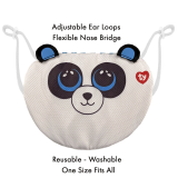 Bamboo the Panda Ty Mask