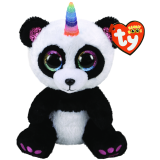 Paris the Panda with Horn Regular Beanie Boo