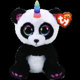 Paris the Panda with Horn Medium Beanie Boo