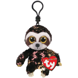 Dangler the Brown Sloth Clip Flippable
