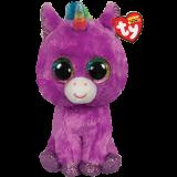 Rosette the Purple Unicorn Regular Beanie Boo