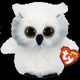 Austin the White Owl Regular Beanie Boo