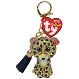 Sterling the Leopard Mini Boos Clip