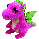 Darla the Pink Dragon (medium)