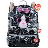 Kiki the Grey Cat Sequin Backpack