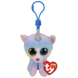 Heather the Cat with Horn Clip Beanie Boos