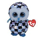 Topper the Checkered Owl Regular Flippable