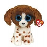 Muddles the Brown and White Dog Regular Beanie Boo