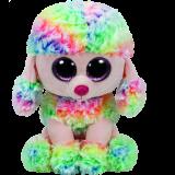 Rainbow the Multicoloured Poodle (medium)