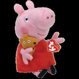 Peppa Pig Red Dress Regular Beanie Babies