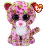 Lainey the Pink Leopard Medium Beanie Boo