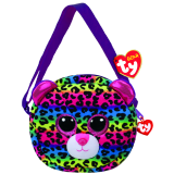 Dotty the Multicoloured Leopard (purse)