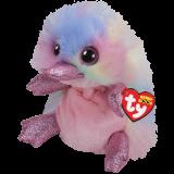 Pentunia the Multicoloured Platypus Medium Beanie Boo