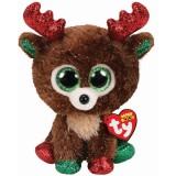 Fudge the Reindeer Christmas Regular Beanie Boo