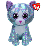 Whimsy the Blue Cat Large Flippable