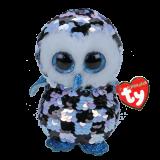 Topper the Checkered Owl Medium Flippables
