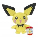"""Pokemon Pichu 8"""" Plush"""