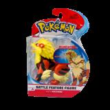 "Pokemon Arcanine 4.5"" Battle Figure"