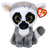 Linus the Lemur Medium Beanie Boo