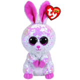 Bonnie the Pink & White Bunny Easter Regular Flippable