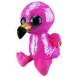 Pinky the Pink Flamingo Large Flippable