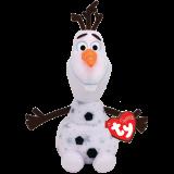 Frozen 2 Olaf Snowman Medium Sparkle Beanie Babies