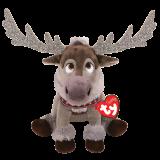 Frozen 2 Sven Reindeer Medium Sparkle Beanie Babies