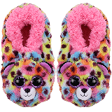 Giselle the Leopard Slippers Small