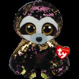 Dangler the Brown Sloth Medium Flippable