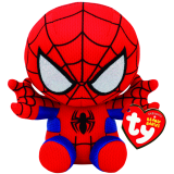 Marvel Spiderman Beanie Babies