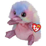 Pentunia the Multicoloured Platypus Medium Beanie Boo