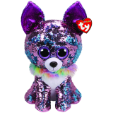 Yappy the Purple Chihuahua Large Flippable