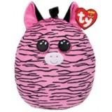 Zoey the Zebra Small Squish-A-Boos