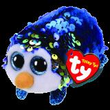 Payton the Blue Penguin Sequin Teeny Tys