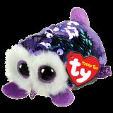 Moonlight the Purple Owl Sequin Teeny Tys