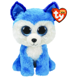 Prince the Blue Husky Medium Beanie Boo