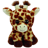 Peaches the Brown Giraffe Beanie (regular)