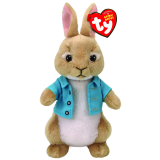 Beanie Babies Peter Rabbit - Cottontail
