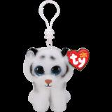 Tundra the White Tiger Clip Beanie Boo