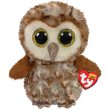 Percy the Barn Owl Medium Beanie Boo