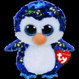 Payton the Blue Penguin Medium Flippable