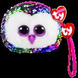 Owen the Multicoloured Owl Sequin Wristlet