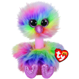 Asha the Pastel Ostrich Medium Beanie Boo